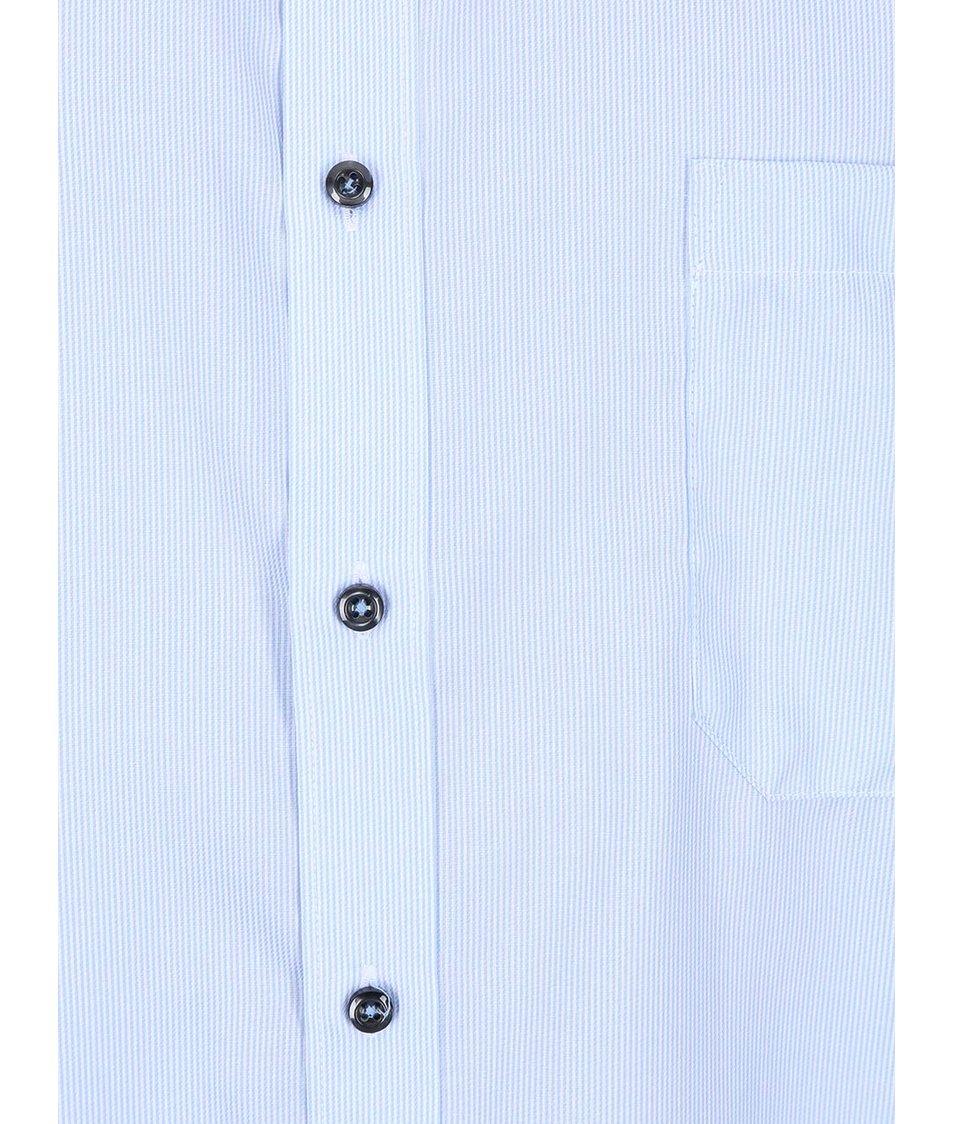 Světle modrá pruhovaná košile Seven Seas California