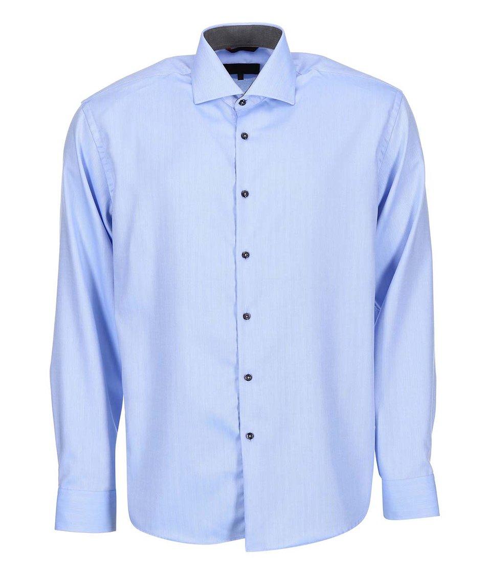 Modrá vzorovaná košile Seven Seas Robert