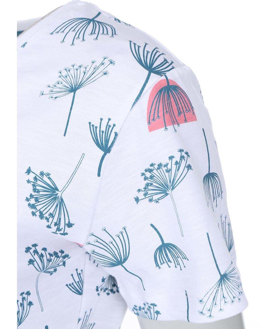 Bílé dámské tričko s chmýřím z pampelišek Brakeburn Dandelion Spring