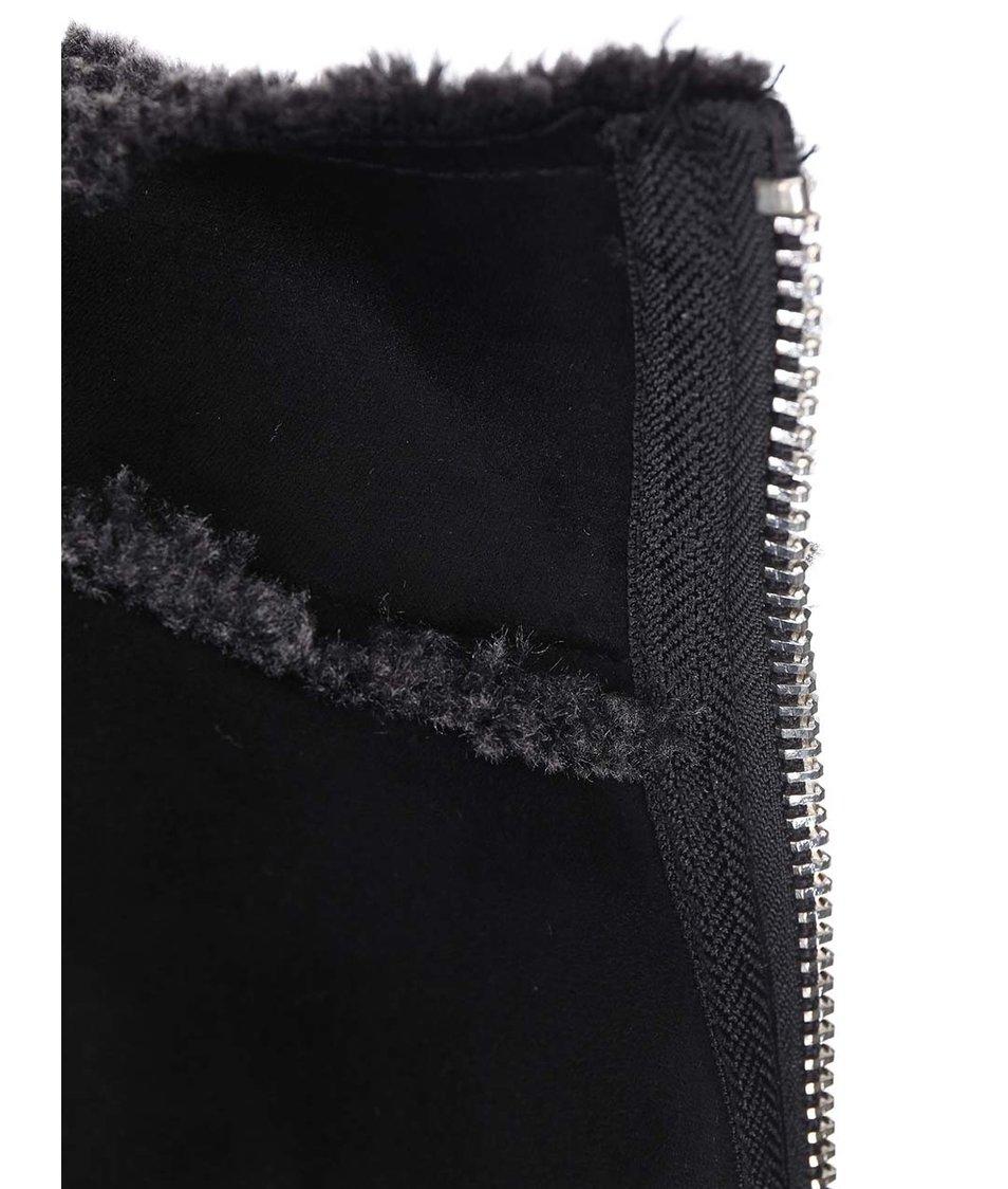 Šedý kabát Vero Moda Shirley
