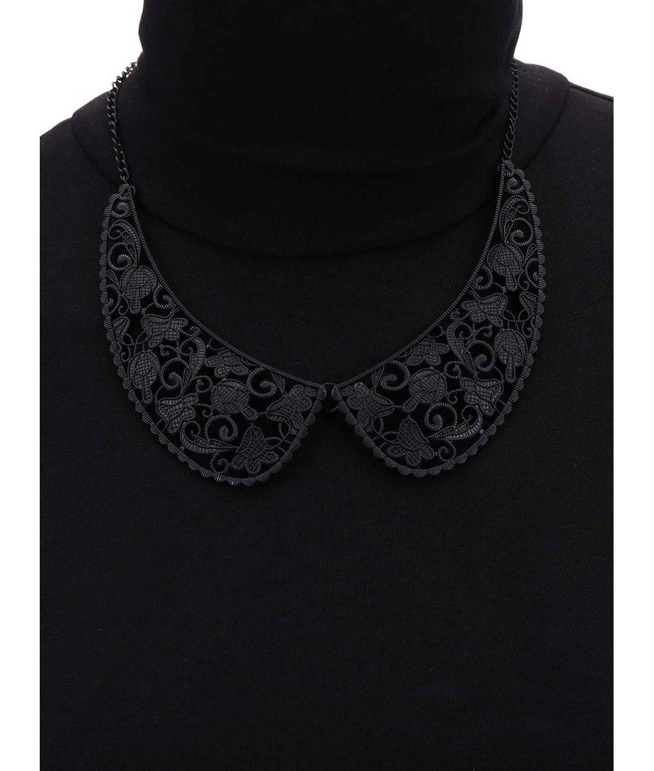 Černý vintage náhrdelník Joe Cool