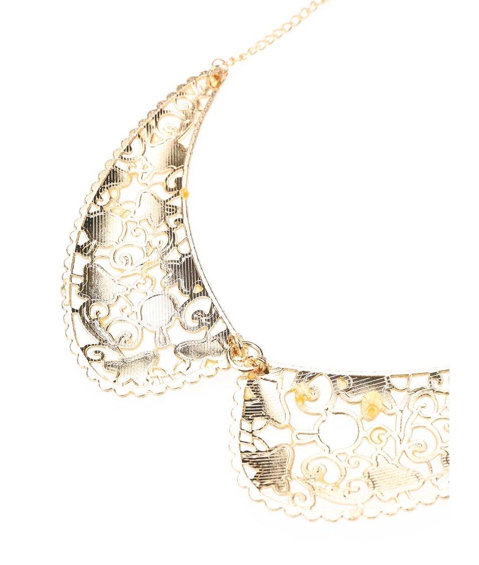 Vintage náhrdelník ve zlaté barvě Joe Cool