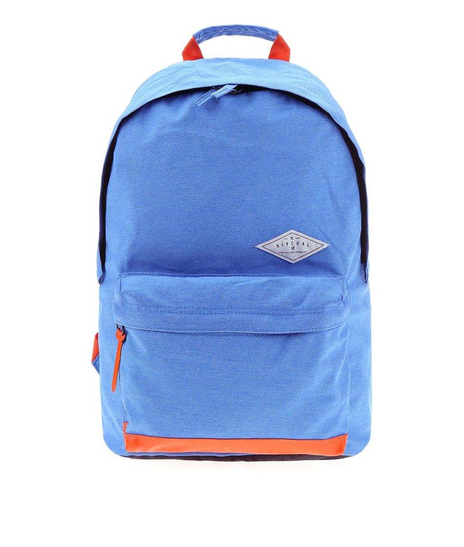 Modrý batoh s ochranou proti dešti Rip Curl Dome Twill Out