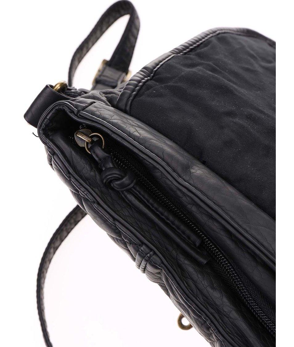 Černá malá kabelka s ozdobnými detaily Rip Curl Nass