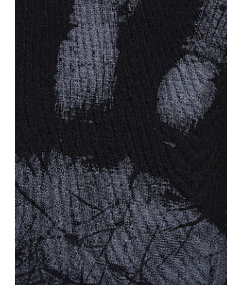 Černá mikina s (p)otiskem ruky ONLY & SONS Draper