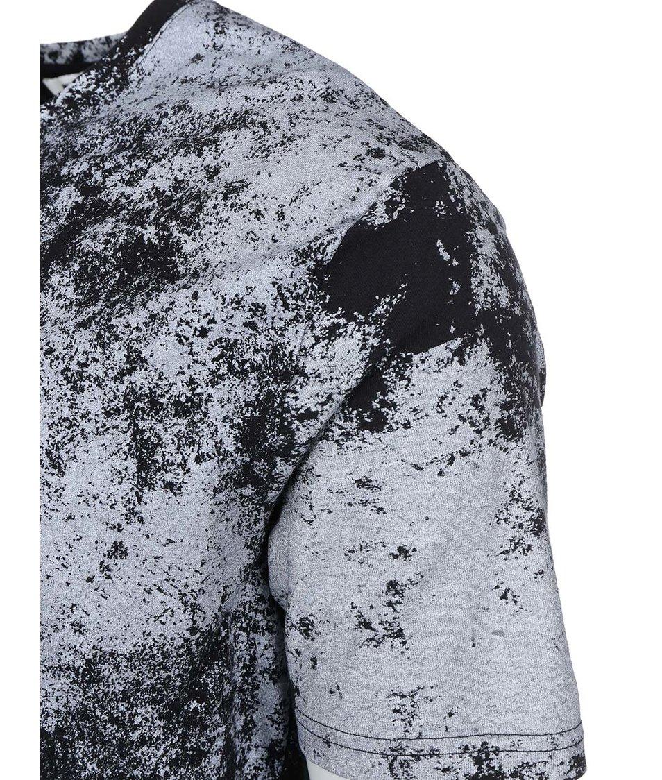 Černé triko s potiskem ONLY & SONS Nigel