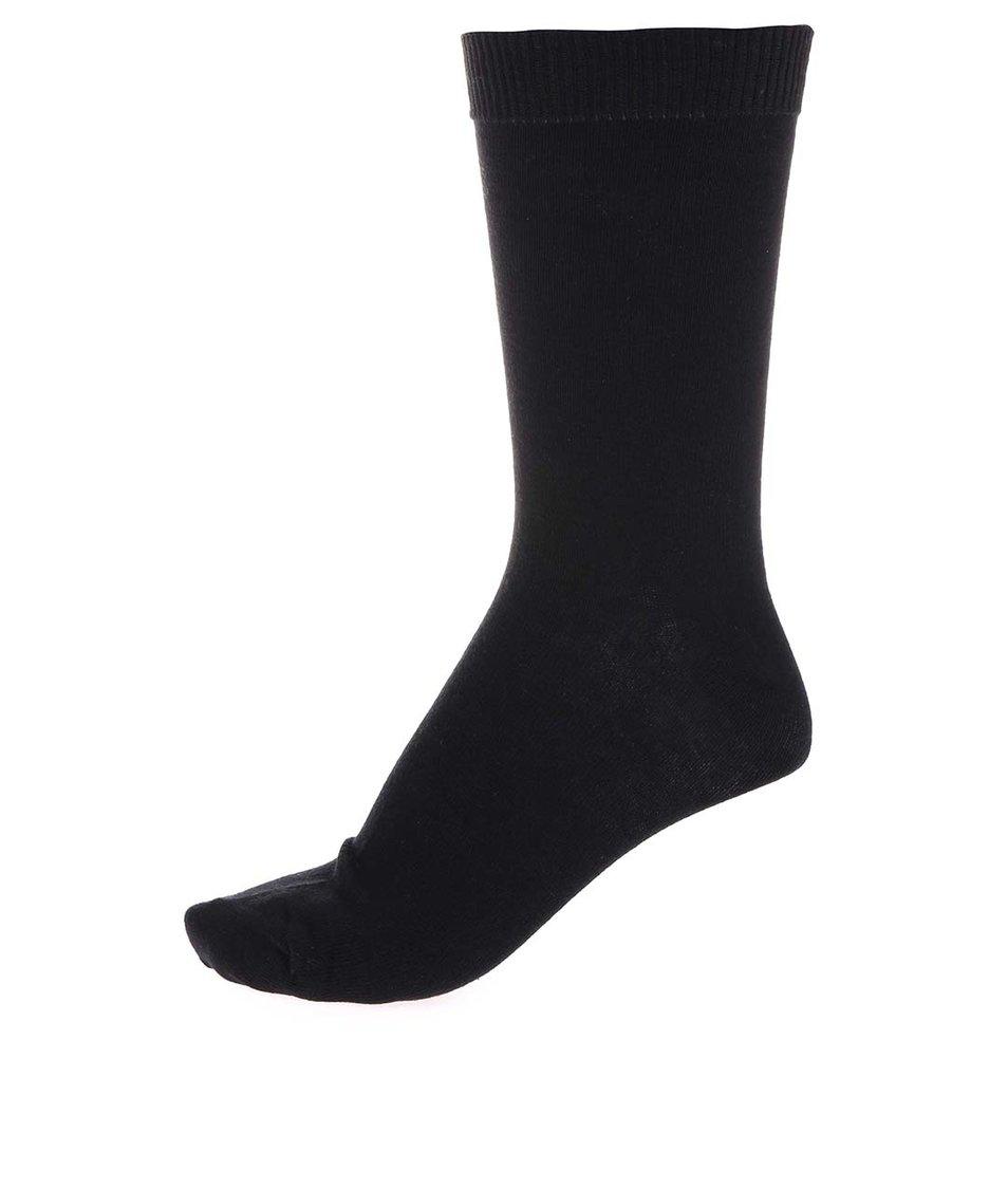 Sada pěti párů černých ponožek ONLY & SONS Dylan