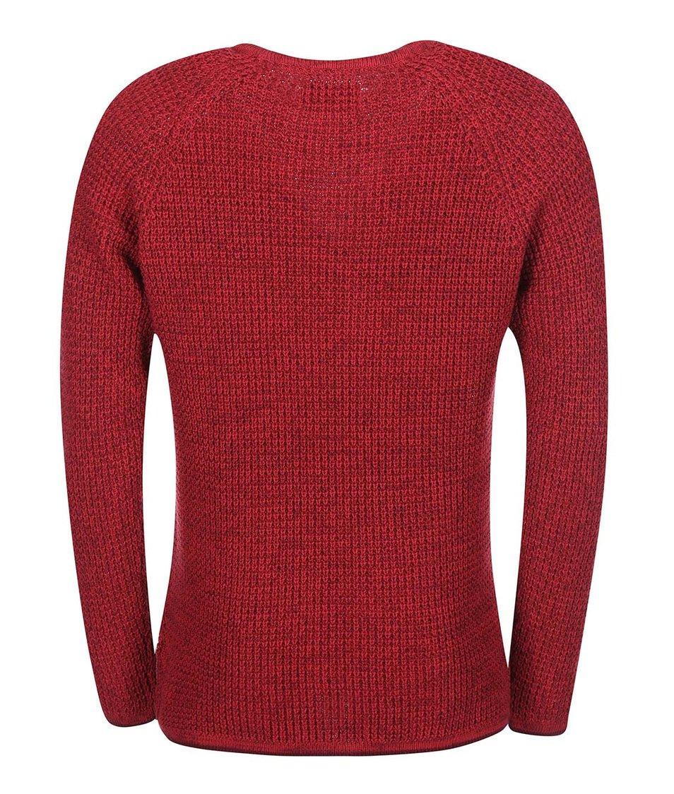 Tmavě červený svetr ONLY & SONS Gatlin
