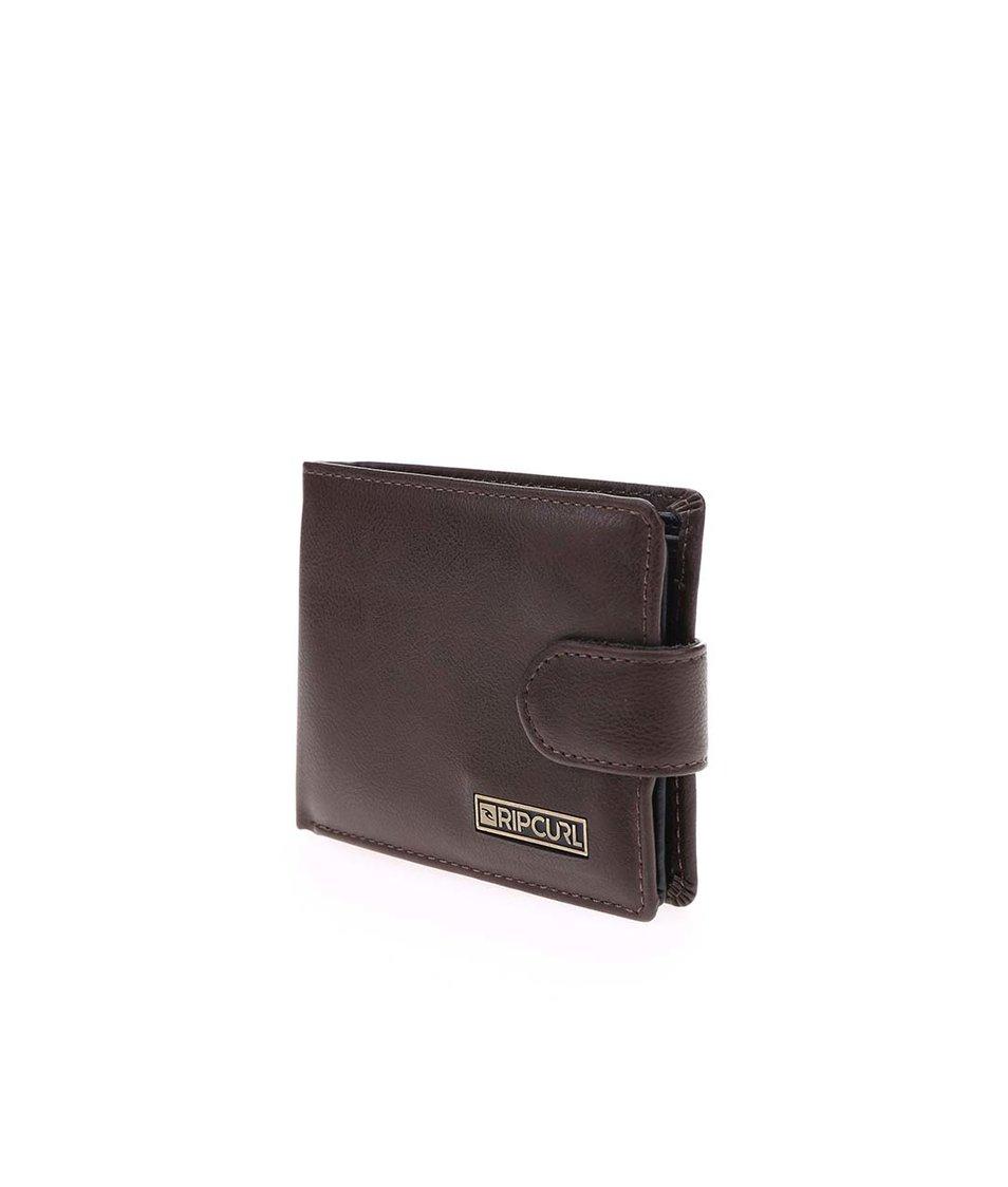 Hnědá pánská peněženka Rip Curl Clipper All Day