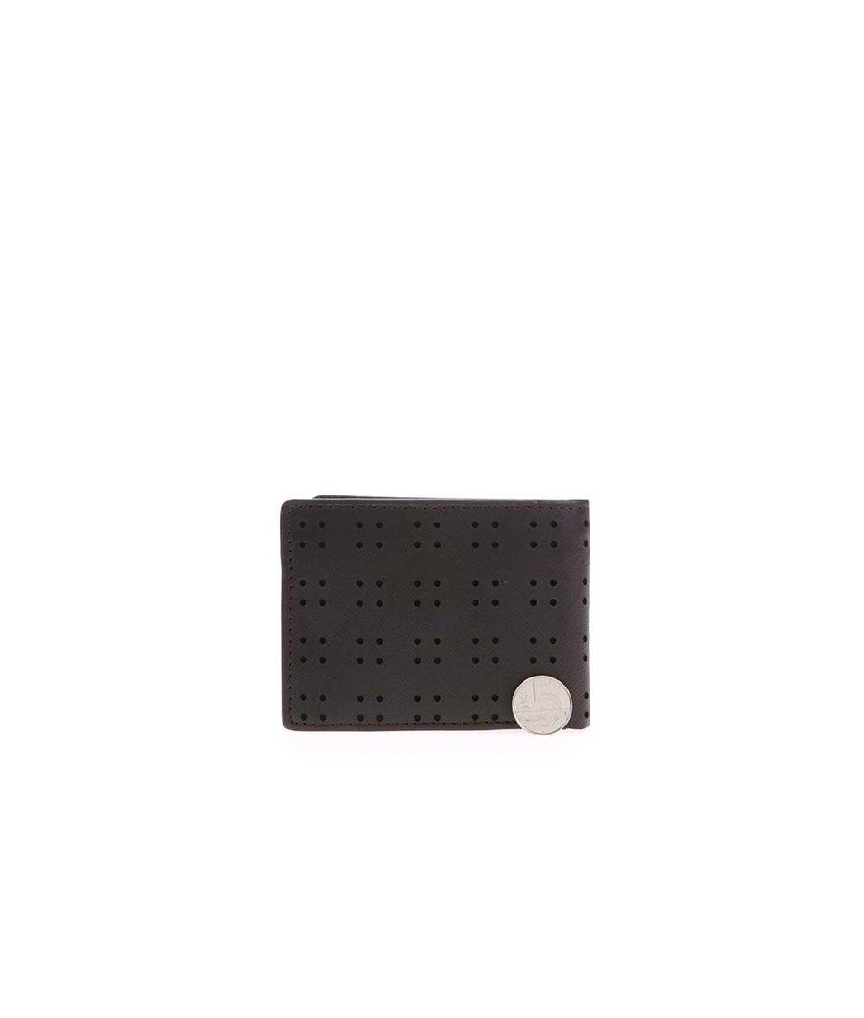 Hnědá pánská kožená peněženka Rip Curl Detail All Day