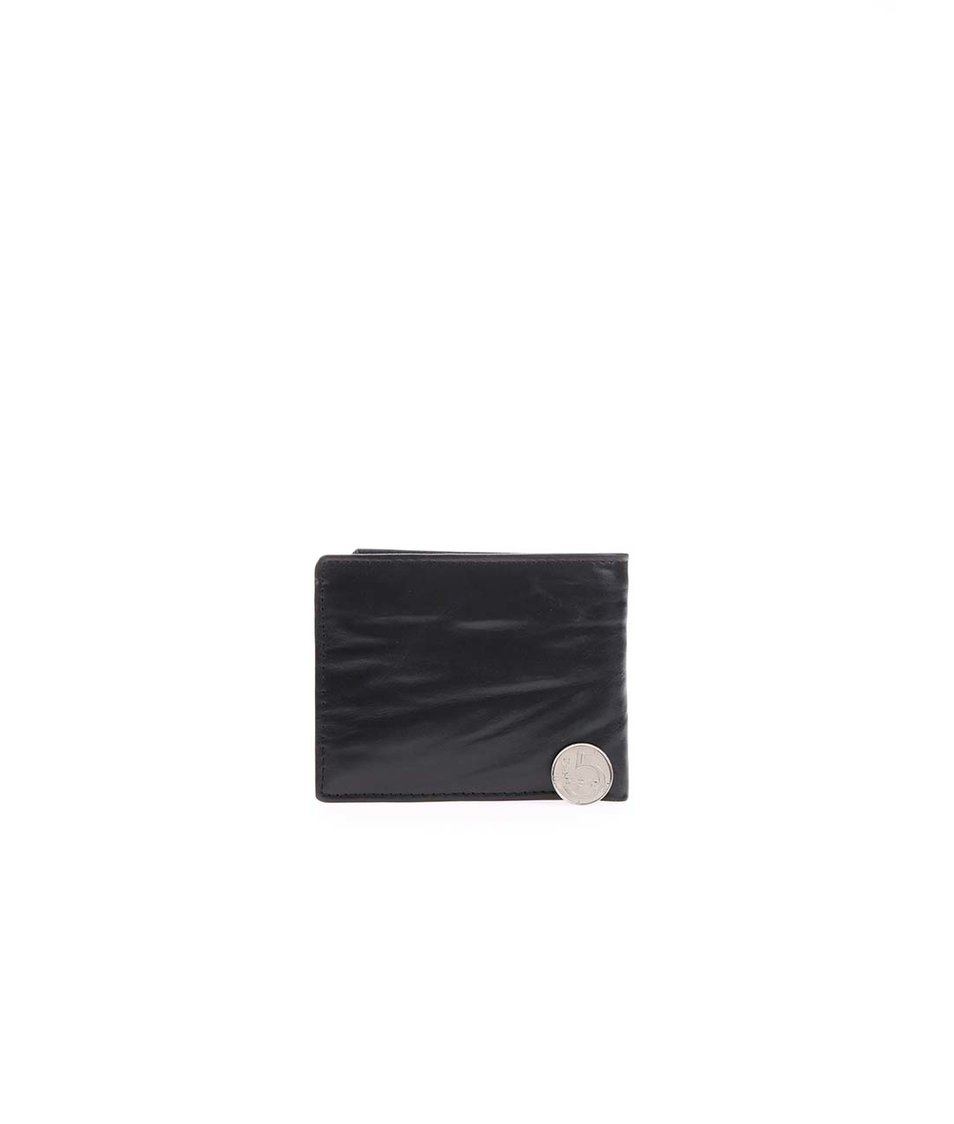 Černá pánská kožená peněženka s logem Rip Curl Blade
