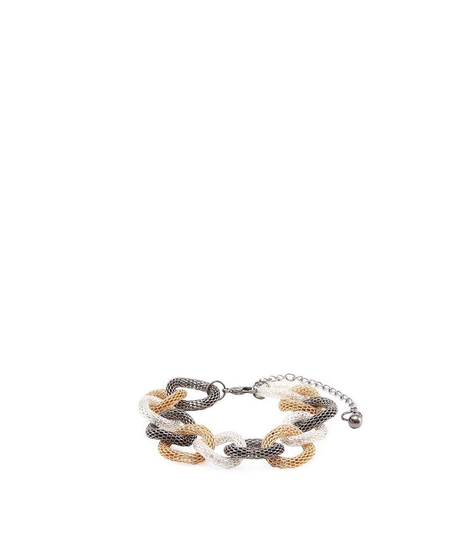 Kroužkový náramek ve stříbrno-zlaté barvě Joe Cool Milano