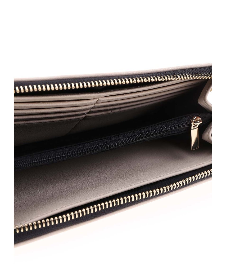Černo-krémová peněženka s hadím vzorem  ALDO Nyssa