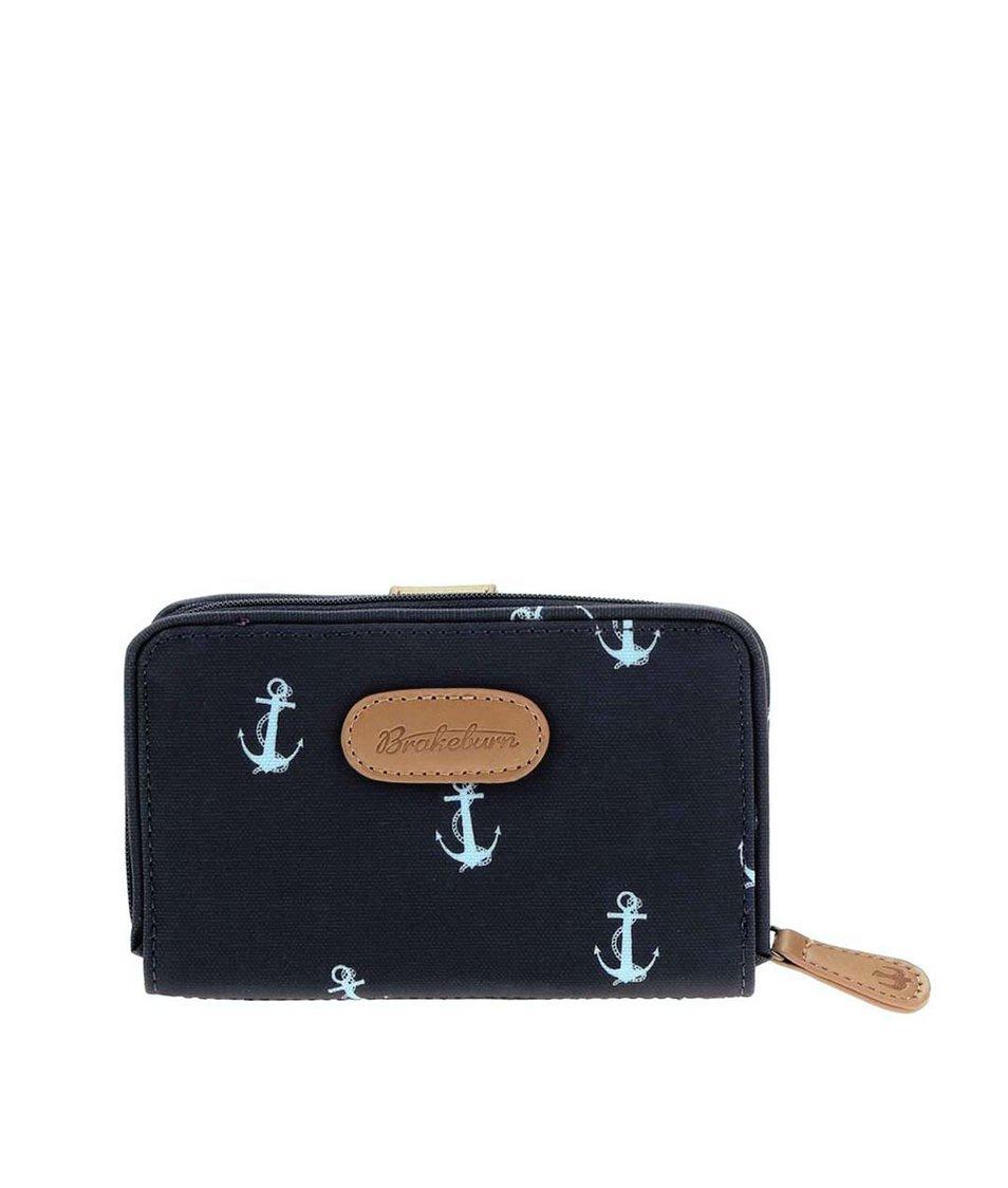 Modrá námořnická peněženka Brakeburn Anchors