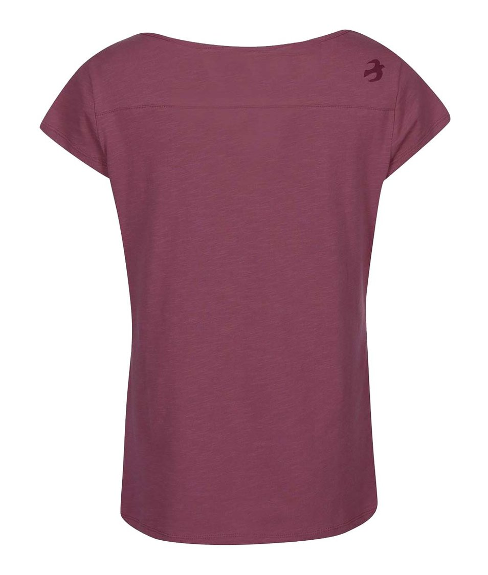 42644fe1fda7 ... Tmavě růžové dámské tričko s potiskem psů Brakeburn Sausage Dog ...