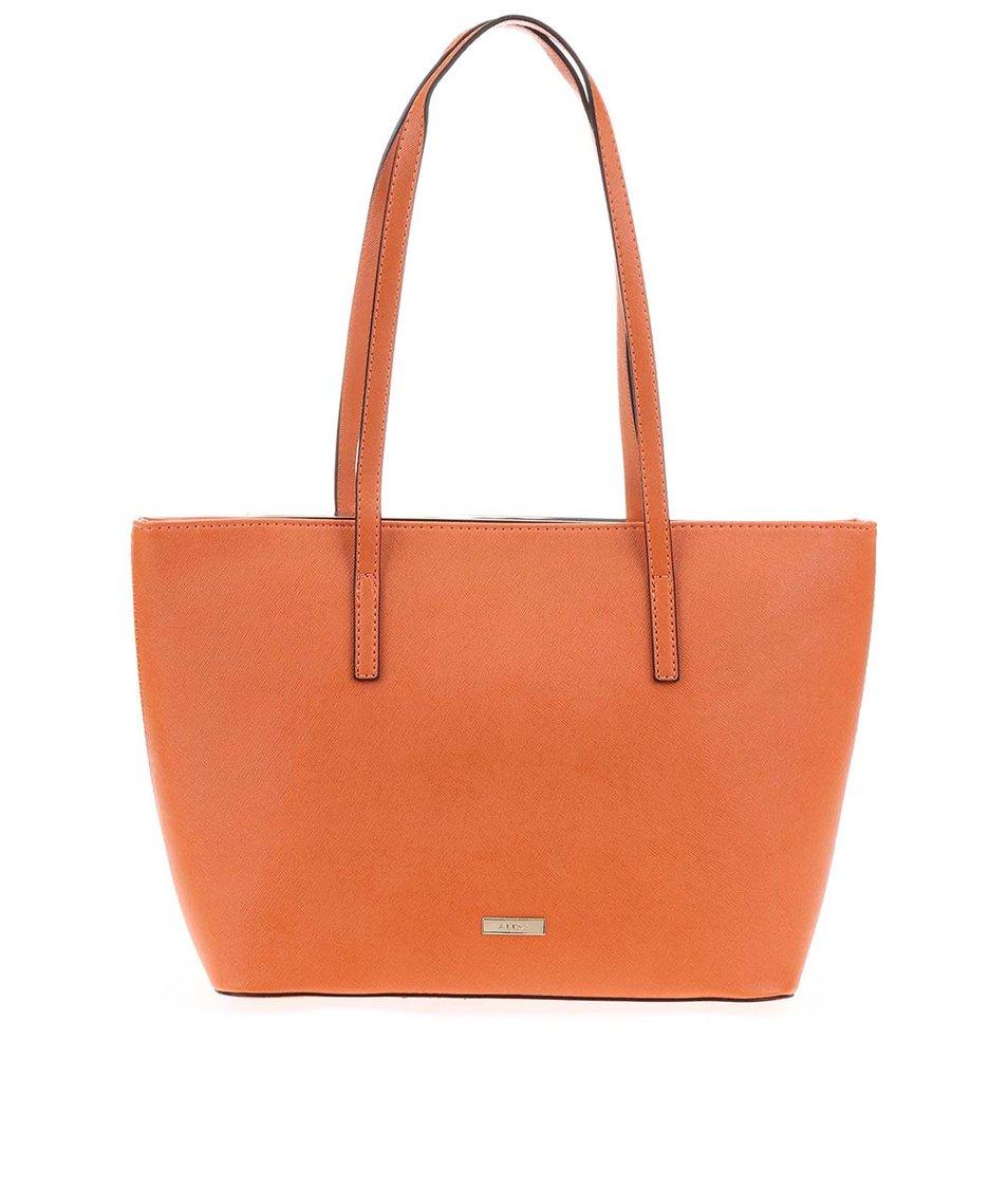 Oranžová kabelka s kovovým detailem ALDO Vanwert