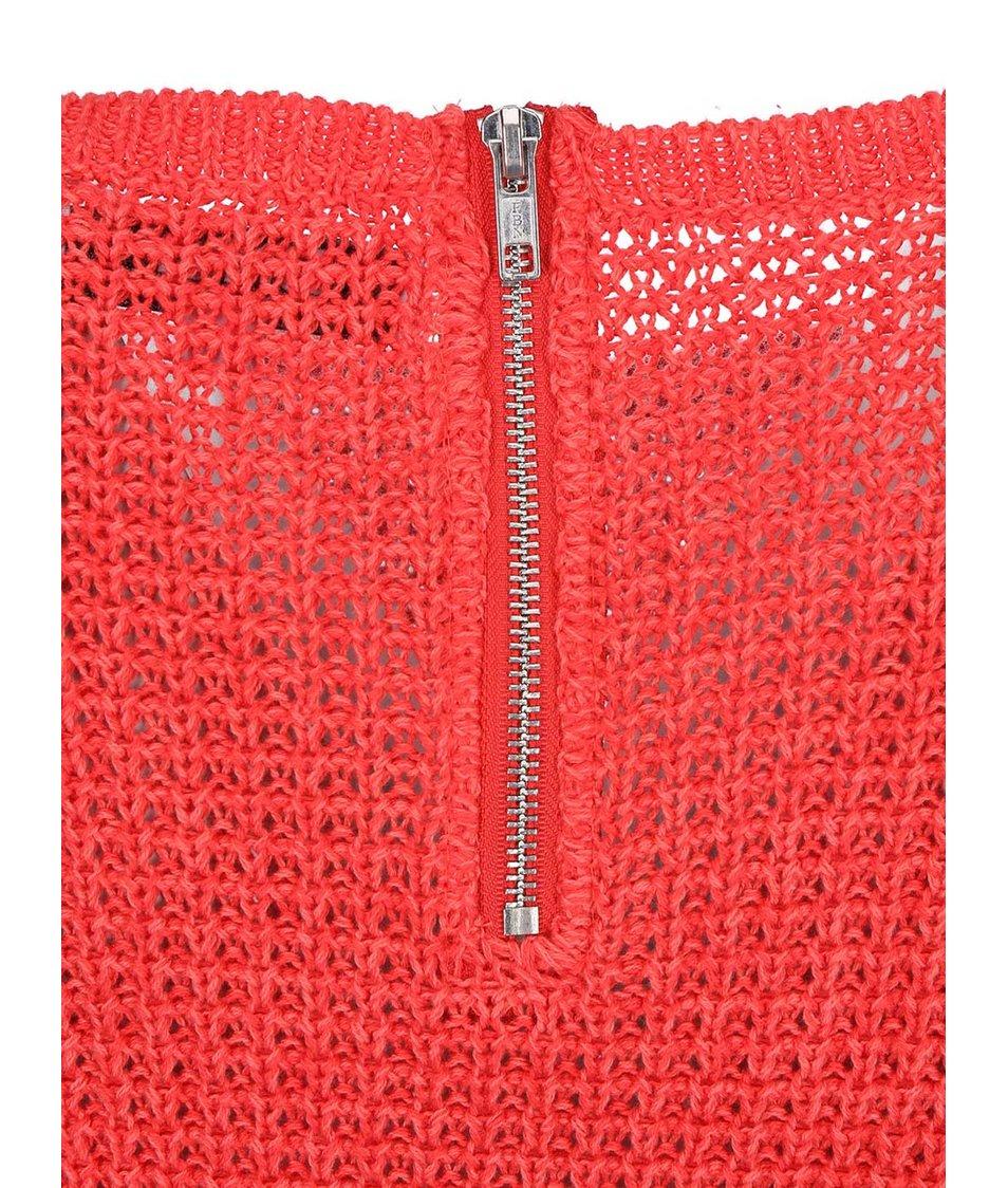 Červený svetr ONLY Ginalu