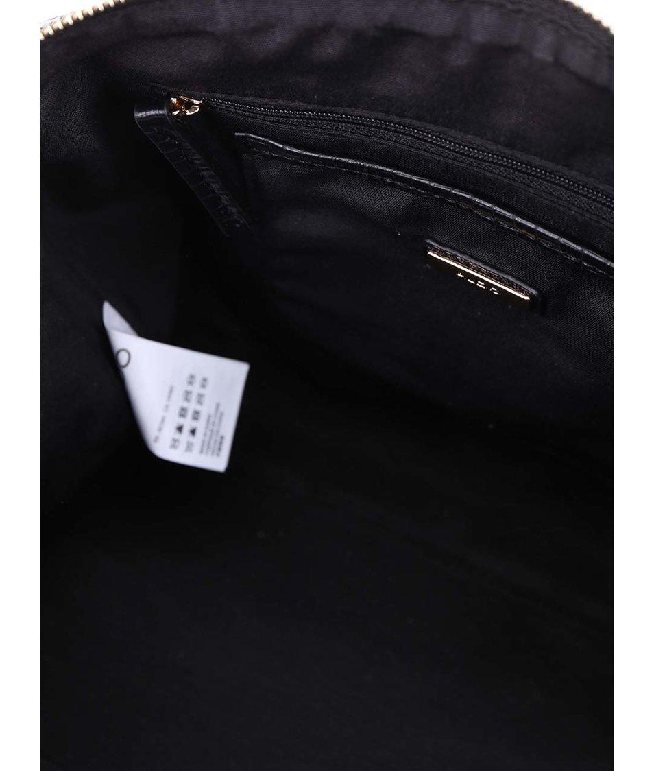 Černo-krémová kabelka ALDO Gelbach