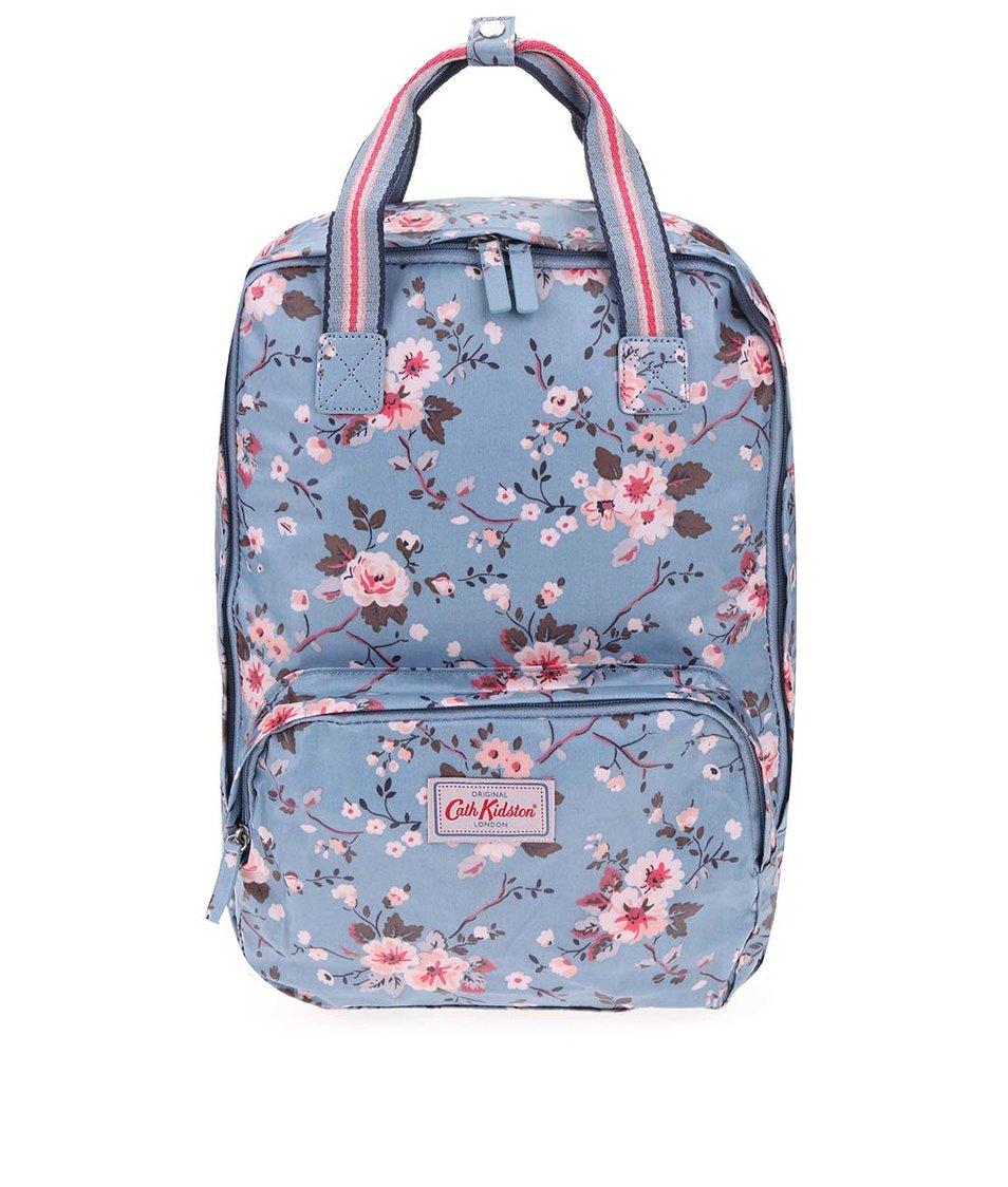 Modrý květovaný batoh Cath Kidston