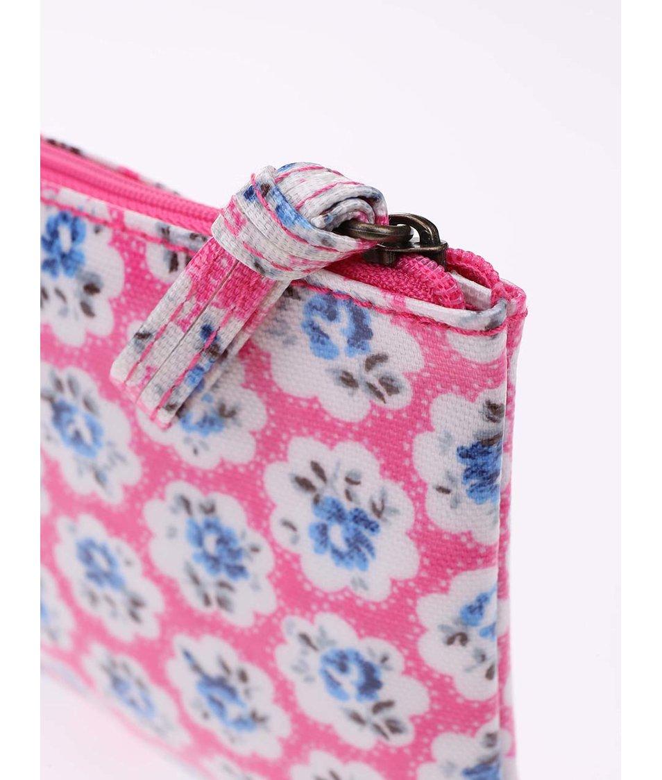 Růžová květovaná taštička na drobnosti Cath Kidston