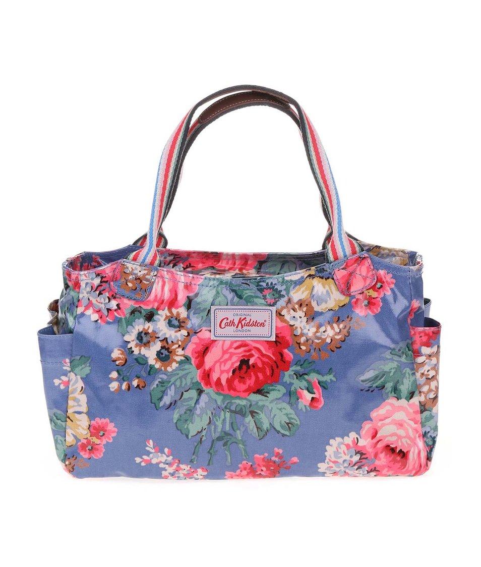Modrá květovaná taška přes rameno Cath Kidston