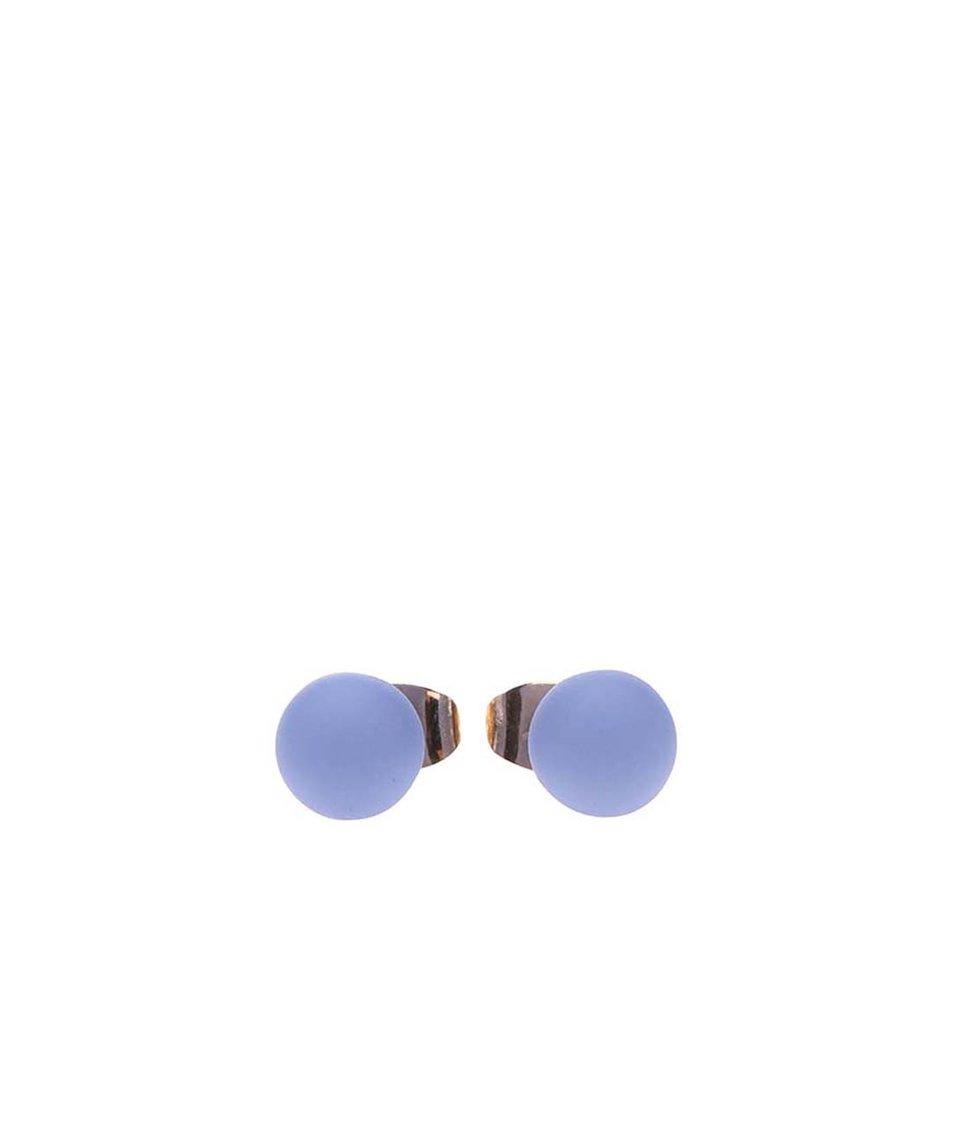 Modré náušnice Pieces Junni