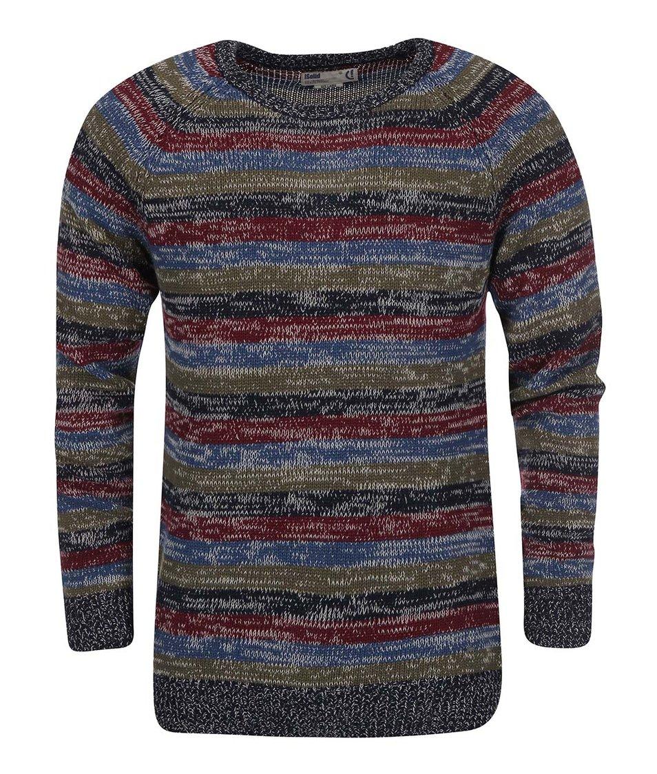 Barevný pruhovaný svetr !Solid Reilan