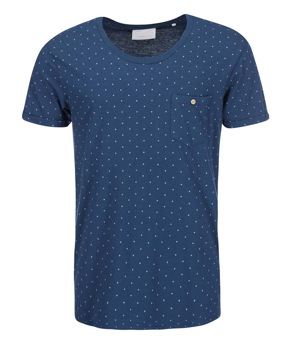 Modré triko se vzorem Tailored & Originals New Addington