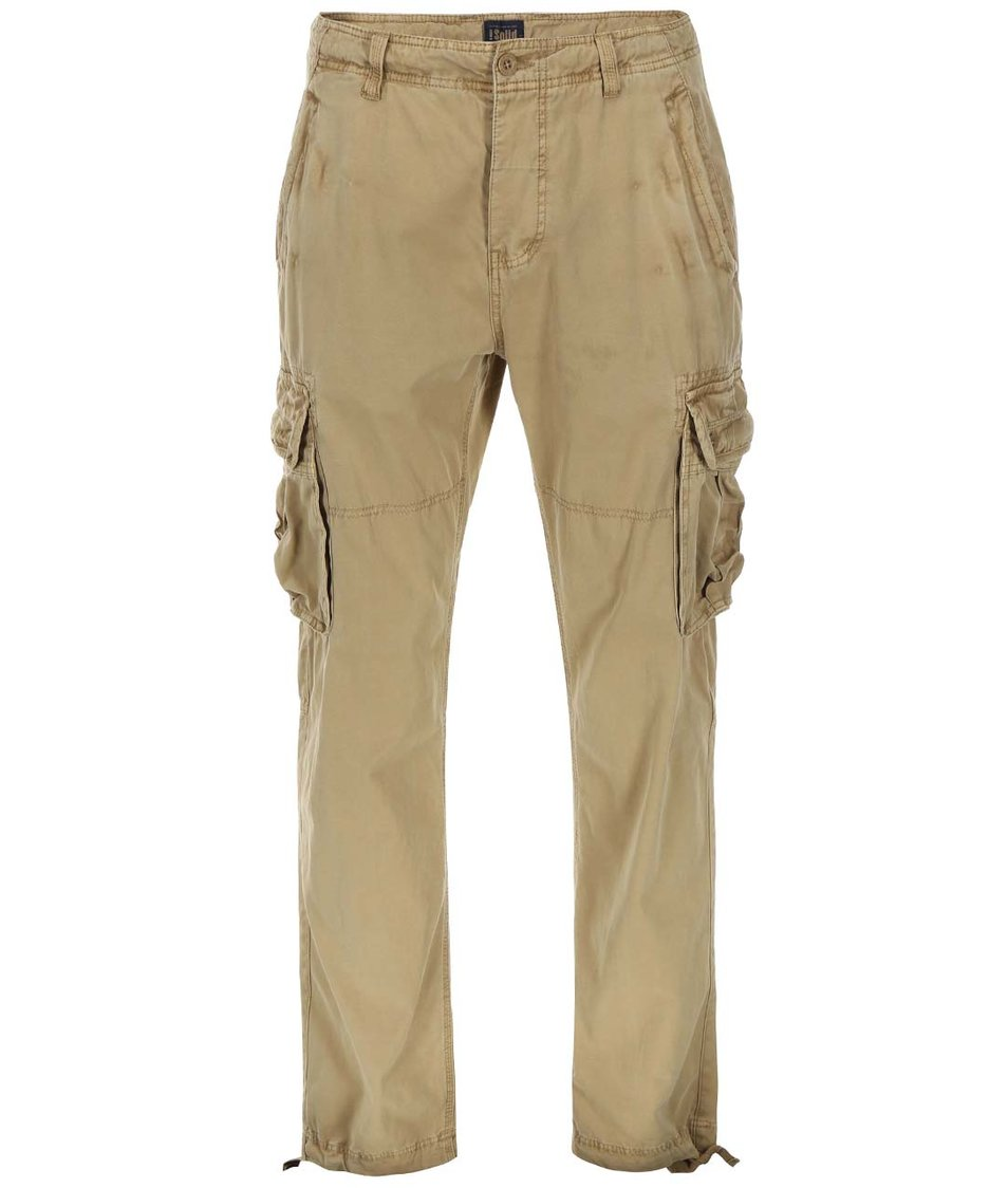 Béžové cargo kalhoty !Solid Everett