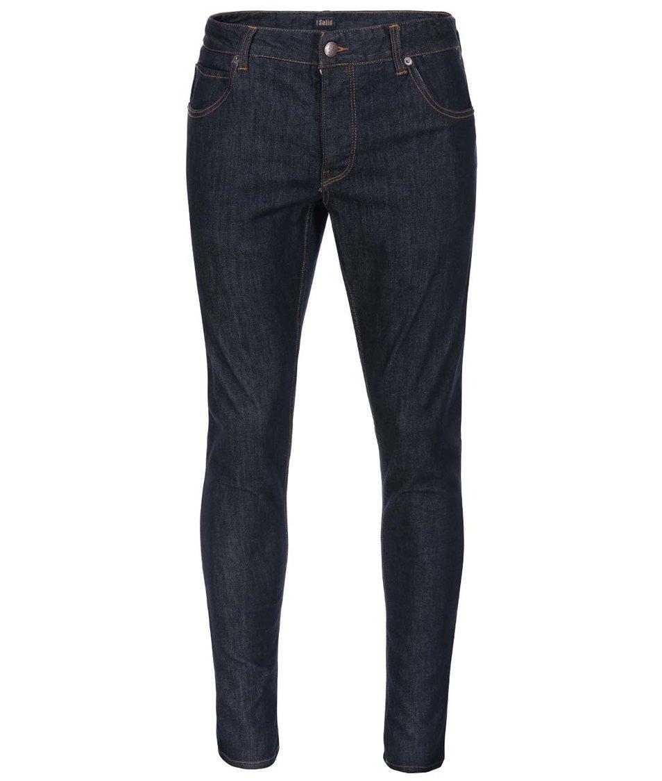Tmavě modré úzké džíny !Solid Dexter