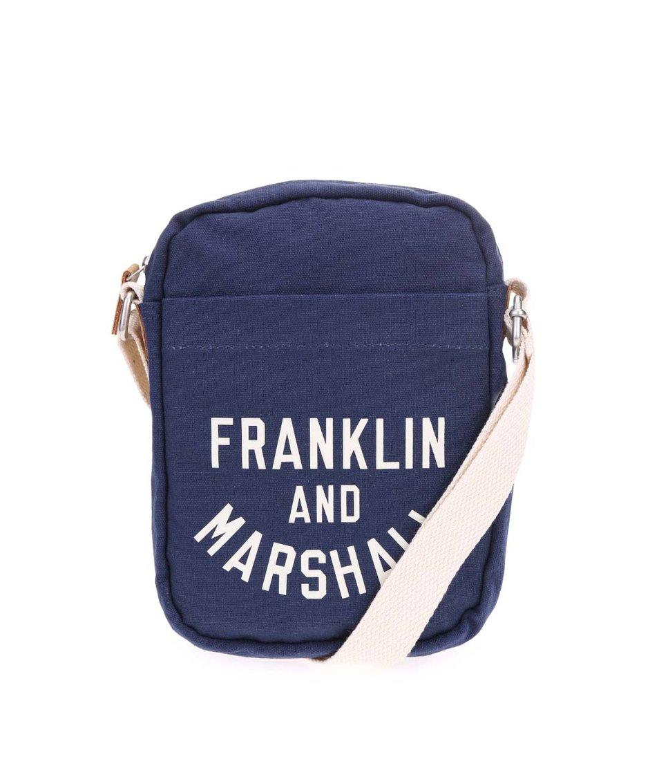 Tmavě modrá menší crossbody Franklin & Marshall