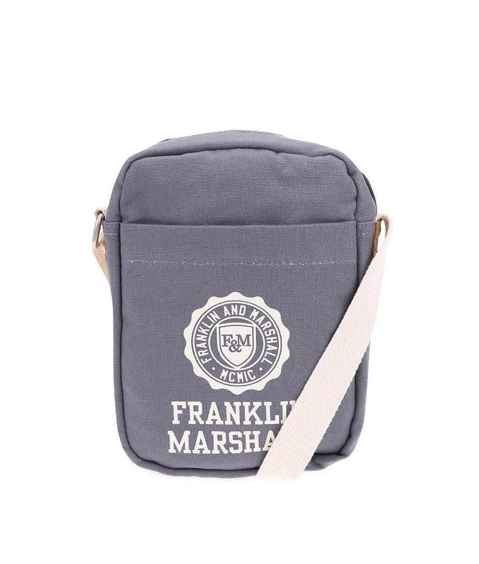 Šedá menší crossbody Franklin & Marshall
