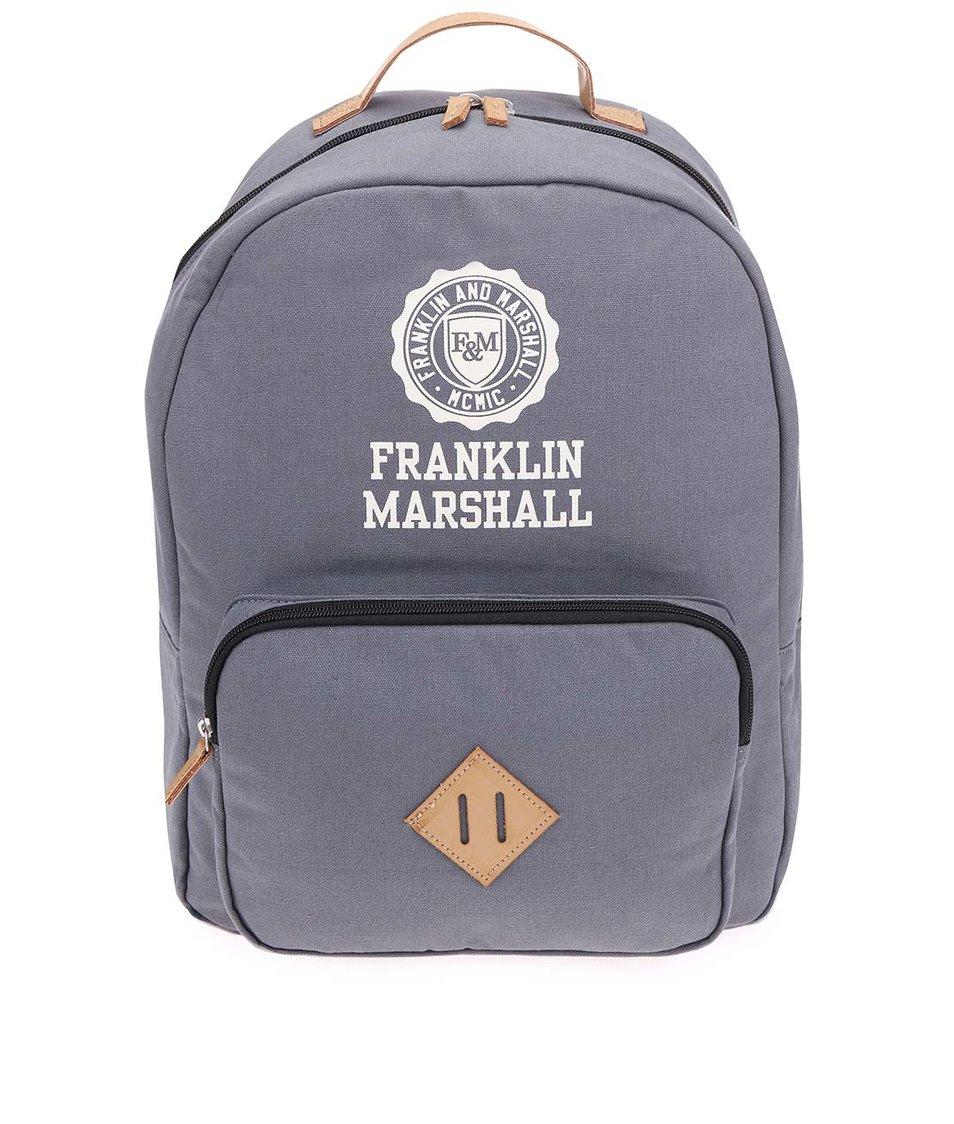 Šedý unisex batoh Franklin & Marshall