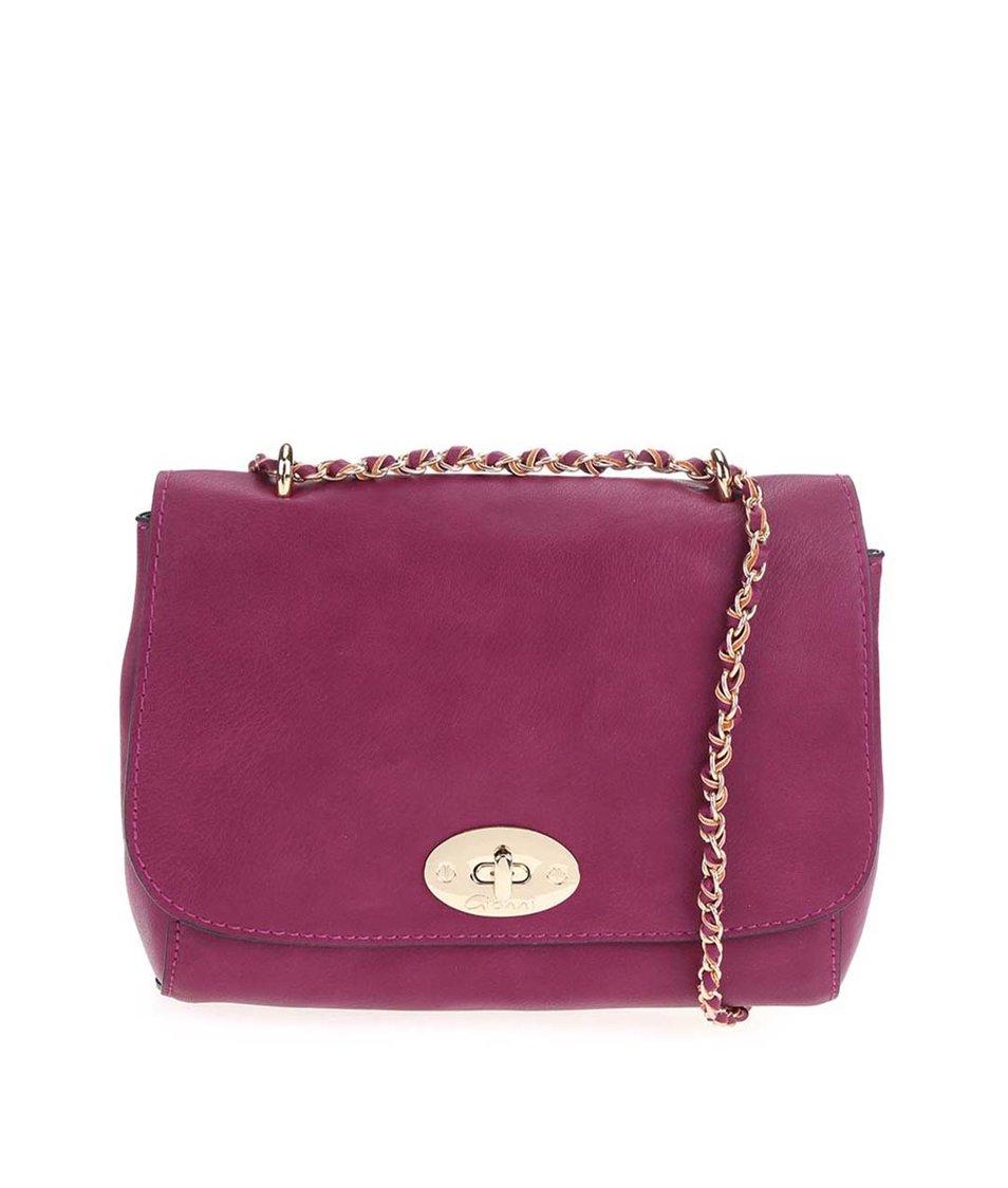 Růžová menší kabelka Gionni Ermine