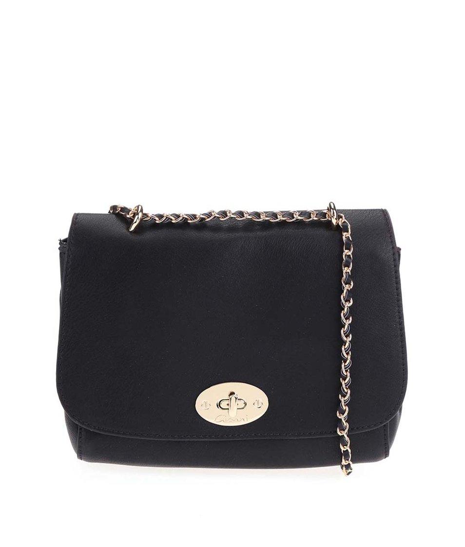 Černá menší kabelka Gionni Ermine