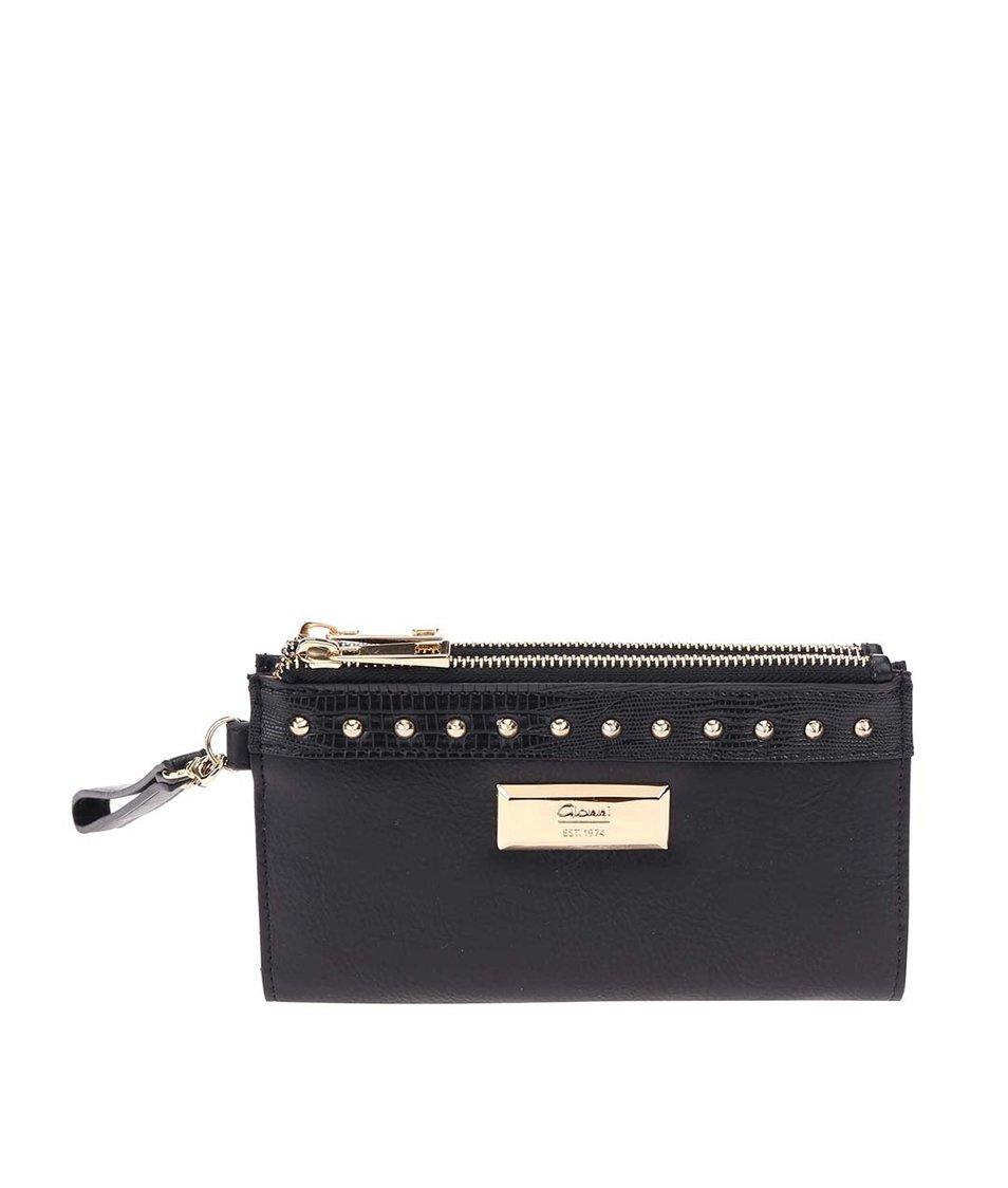 Černá peněženka Gionni Abra