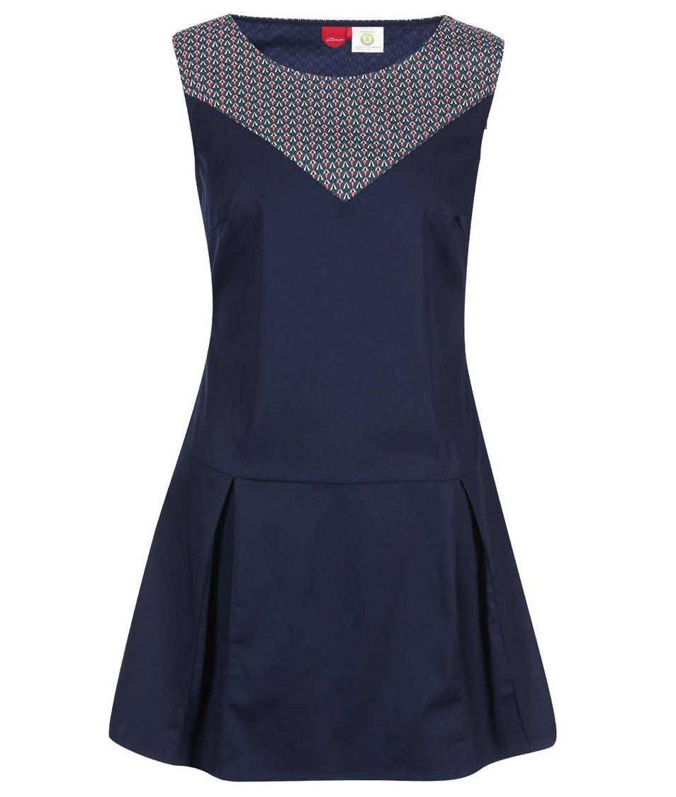Modré šaty se vzorem Skunkfunk Frantzesa