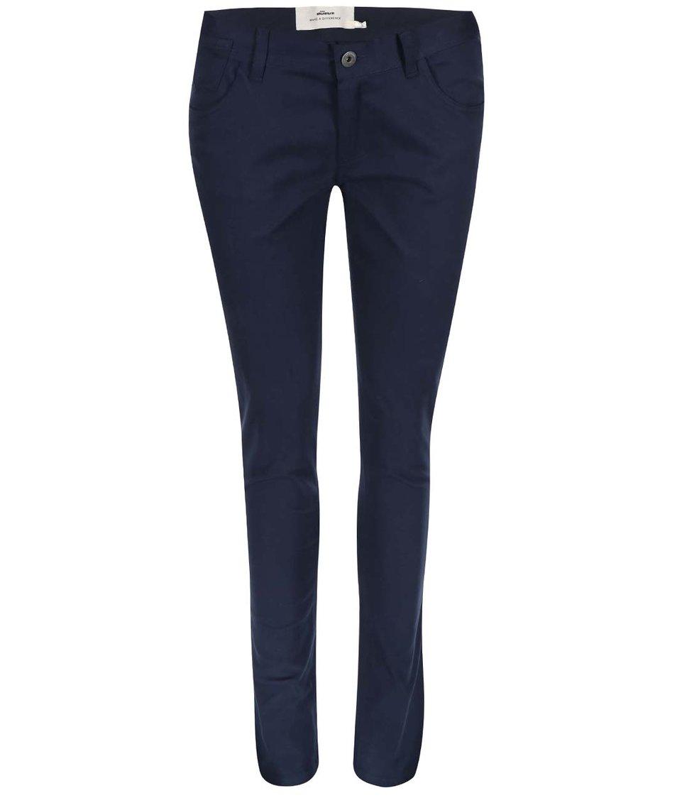 Tmavě modré skinny kalhoty Skunkfunk Naomi
