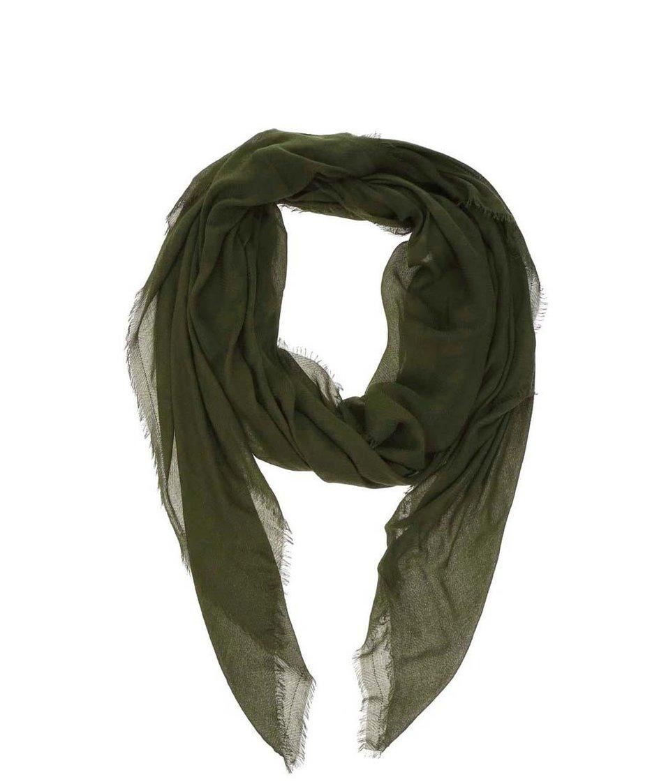 Zelený šátek Pieces Nanny