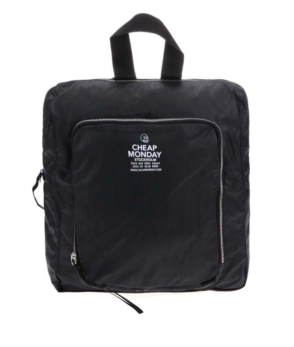 Černý batoh Cheap Monday Zip Sack