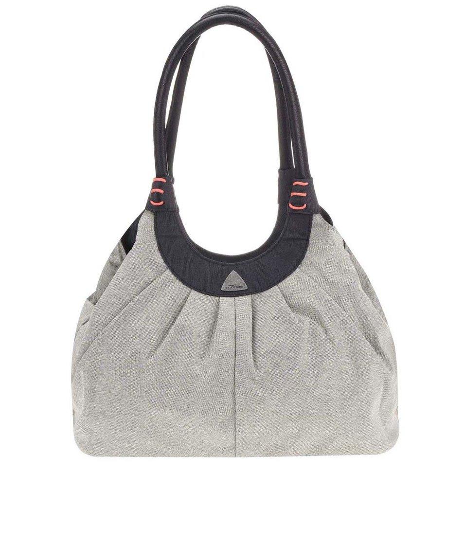Černo-šedá kabelka Skunkfunk Isona