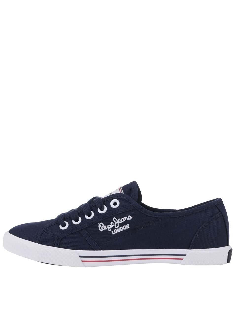 Modré dámské tenisky Pepe Jeans 0146c2e5d2