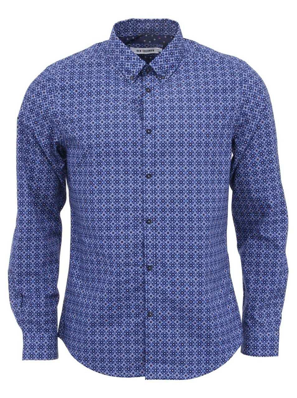 bdb8a5fbda0 Bílá košile bez límečku Burton Menswear London