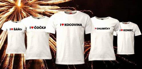 Novoroční trička I ♥