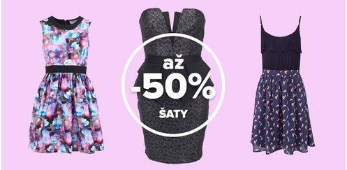šaty zoot výprodej se slevou 50%