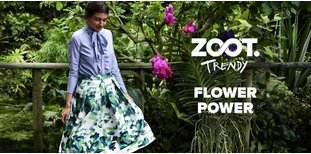 ZOOT Trendy: Flower Power