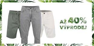 Výprodejová kolekce - kraťasy kalhoty