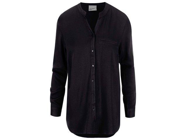 514f85c036f1 Čierna košeľa Vero Moda Measy