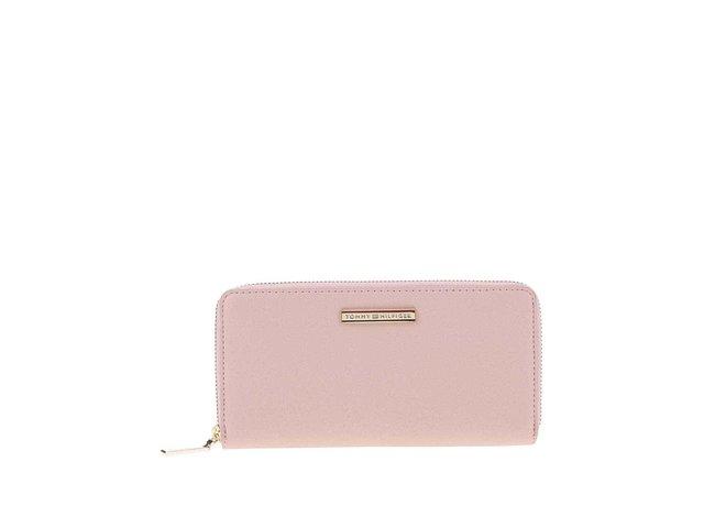 Růžová peněženka Tommy Hilfiger Honey Large