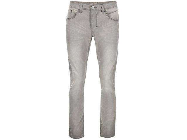 Šedé džíny s vintage efektem Blend